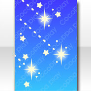 (Wallpaper Profile) Ttwinkling Shooting Stars Wallpaper