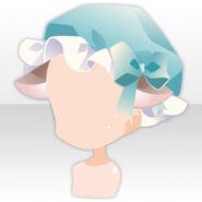 (Head Accessories) Cat Ears on Tea Party Nightcap ver.A blue