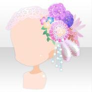 (Head Accessories) CocoPPa Dolls Princess Amar Hair Accessories ver.A white