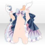 (Hand Accessories) Elegant Perfume and Cape ver.A blue