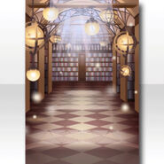 (Wallpaper Profile) Phantom Library Wallpaper ver.A brown