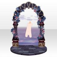(Back Accessories) Fontana Wonder Arch Gate ver.A purple