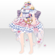 (Tops) Angelic Magical Heart Dress ver.A purple