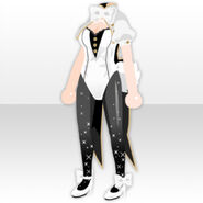 (Tops) Undercore Bunny Style ver.A white