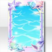 (Wallpaper Profile) Shell Frame Wallpaper ver.A blue