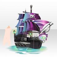 (Avatar Decor) Pirate Ship Searching for Treasure ver.A purple