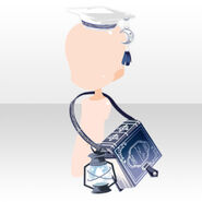 (Head Accessories) Phantom Hat and Shoulder Bag ver.A blue