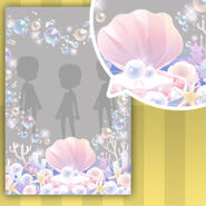 (Show Items) Pearl Oyster and Heart Bubbles Decor2 ver.1
