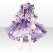 (Tops) CocoPPa Dolls Forest Bambi Top ver.A purple