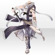 (Tops) Floracion Guardian Servant Cloth ver.A white