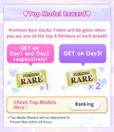 (Bonus) Top Brand - Top Model Reward