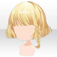 (Hairstyle) Chocolat Knight Braided Bob Hair ver.A yellow