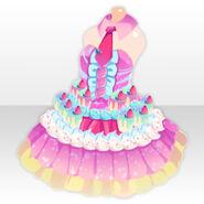 (Tops) Magical Sweets Buffet Dress ver.A pink