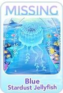 (Characters) Find'em Aquarium - Blue Stardust Jellyfish