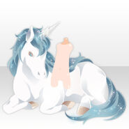 (Shoes) Keeping Poem Secretly Unicorn ver.A white