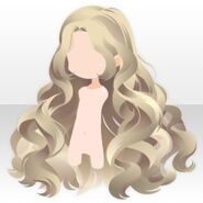 (Hairstyle) Perfume Wavy Long Hair ver.A yellow