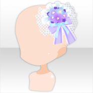 (Head Accessories) Hydrangea Head Dress ver.A purple