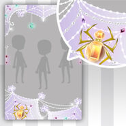 (Show Items) Jewel Spider & Lace Spider Web Decor1 ver.1