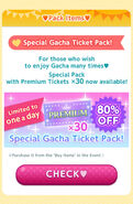 CocoPPa Play 3rd Anniversary Promo 1 (Pack Items)