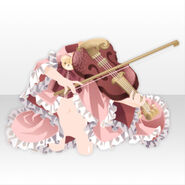 (Outerwear) Peluche Violinist Cape ver.A pink