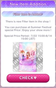 (Promotion) CocoPPa Play Summer Festival 2019 Promotion - New Item Addition