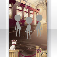(Show Items) Kitty Cat Railway Platform Stage ver.1