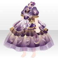 (Tops) Elegant Perfume Dress ver.A purple