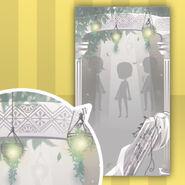 (Show Items) Floracion Leaves Light Lamp Decor1 White ver.1