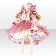 (Tops) CocoPPa Dolls Forest Bambi Top ver.A red
