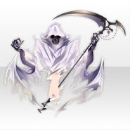 (Avatar Decor) Underworld Death Scythe Familiar Spirits ver.A white