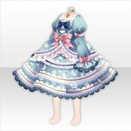 (Tops) Secret Fleur Frilled Dress ver.A pale blue