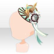 (Head Accesories) Chocolat Queen's Hat ver.A green