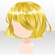 (Hairstyle) Jewelry Princess Sulfur Short Bob Hair ver.A yellow