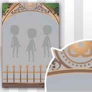 (Show Items) Phantom Iron Fence Decor2 Brown ver.2