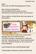 (What's New) CocoPPa Model Club - Jewel Gacha Release