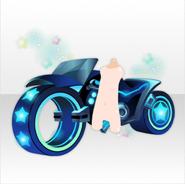 (Avatar Decor) Virtual Planet Bike Leapt Through Future ver.A black