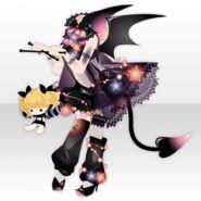 (Tops) Possession Devil Girl Style ver.A black