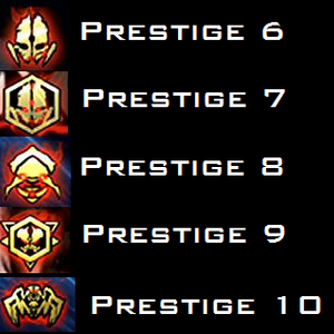 call of duty ghosts extinction prestiges