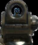 Apuntando con una M4A1 en MW3