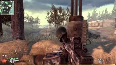 Modern Warfare 2 MG4-2