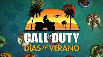 Call of Duty® Black Ops 4 — Tráiler Días de Verano ES