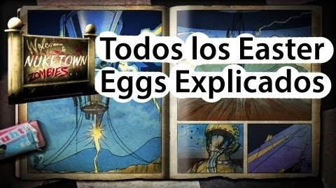 Todos los Easter Eggs de NukeTown Zombies Marlton, Bunker, ositos, Ritchtoffen..