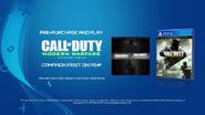 Promo CoD IW PS4