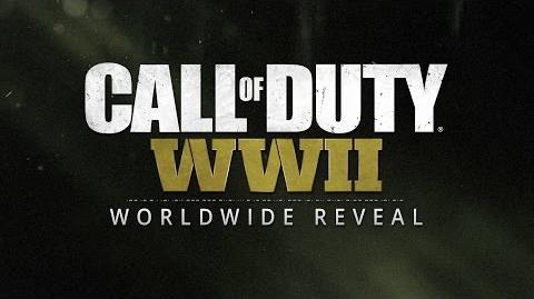 Call of Duty® WWII - Transmisión de revelación mundial oficial