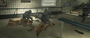 Soldados del SAS aprehendiendo a los enemigos
