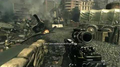 Call of Duty Modern Warfare 3 - Mision 7 - Goalpost