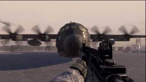 Modern Warfare 2 - The AC130 In SSDD - HD