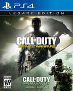 CoD IW Legacy PS4 Box Art