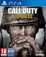 CoD WWII - Carátula de PS4