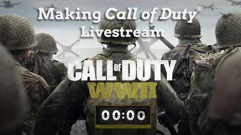 Haciendo Call of Duty® WWII - Transmisión en vivo
